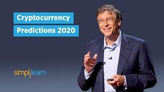 Cryptocurrency Predictions 2020 - Elon Musk, Bill Gates, John McAfee, Jack Dorsey Views| Simplilearn
