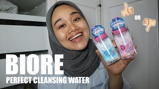REVIEW BIORE PERFECT CLEANSING WATER | FATYABIYA Video thumbnail