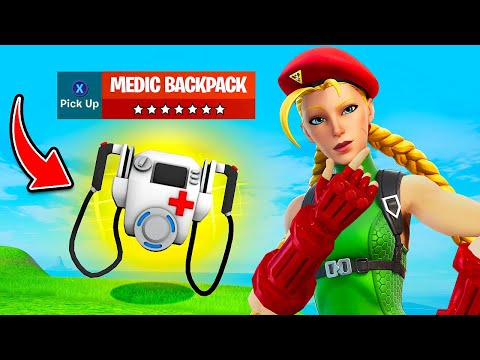 Epic Just *LEAKED* the Most OP ITEM EVER!! (Medic Backpack) - Fortnite Funny Moments #1334