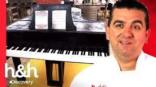 ¡Pastel piano de tamaño real! | Cake Boss | Discovery H&H