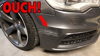 How to Repair Damage on your Car! Rattle can on 30K Car