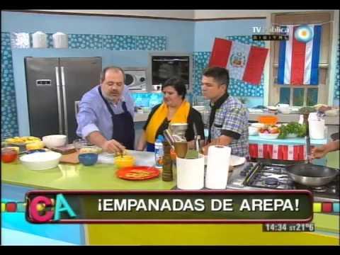 Empanadas de arepa