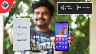 Honor Play Unboxing & initial impressions ll in telugu ll