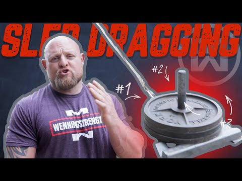 Sled Dragging! (For Massive Glutes and Hamstrings)