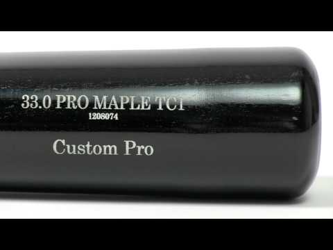 Old Hickory Bat Co. Custom Pro Maple Wood Bat: TC1 Adult