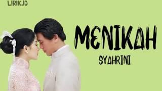 Syahrini – Menikah (Lirik)