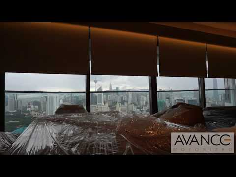 Avance motorized blinds system