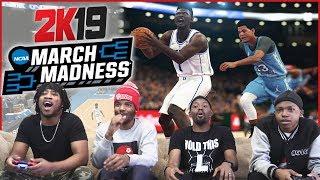 NBA 2K19 College MARCH MADNESS Tournament!