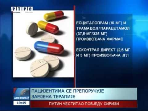 Lijekovi za glavobolju i hipertenzije