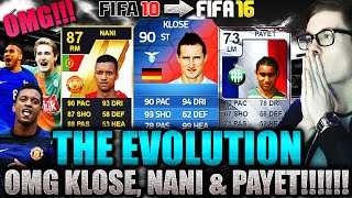 OMFG THE EVOLUTION FT KLOSE NANI & PAYET  FIFA 16 ULTIMATE TEAM DEUTSCH  HOLY SHIT