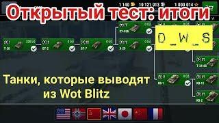 Открытый тест: итоги | Танки, которые выводят | D_W_S | Wot Blitz