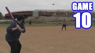 MY FIRST INSIDE-THE-PARK HOME RUN! | On-Season Softball Series | Game 10