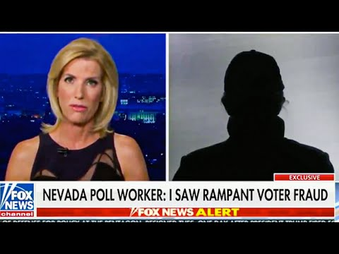 Laura Ingraham's Embarrassing Interview with 'Anonymous' Poll Worker