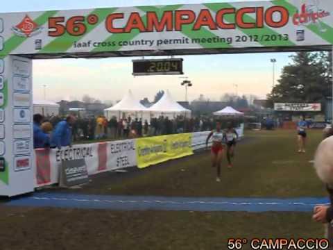 56° Campaccio, l'arrivo della gara femminile