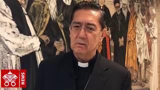 Mgr Miguel Angel Ayuso Guixot réagit au décès du cardinal Tauran