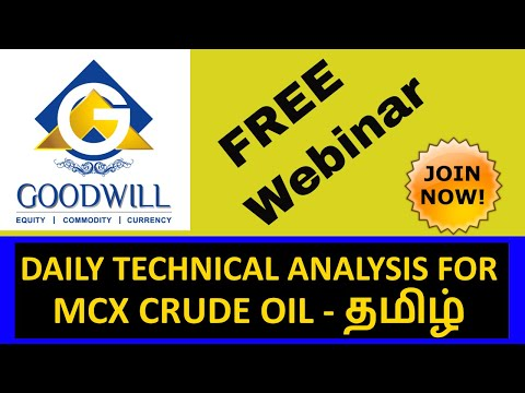 MCX TECHNICAL ANALYSIS LESSON/TUTORIAL இன் தமிழ் GOODWILL COMMODITIES  CHENNAI TAMIL NADU INDIA