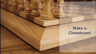 How I made a chess board/ Schachbrett bauen
