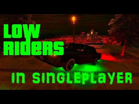 GTA Online How To Get Lowrider's In Singleplayer Easy Glitch