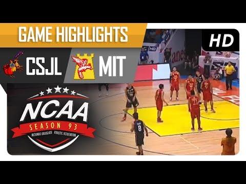 Letran Knights vs. Mapua University  | NCAA 93 | MB Game Highlights | July 11, 2017