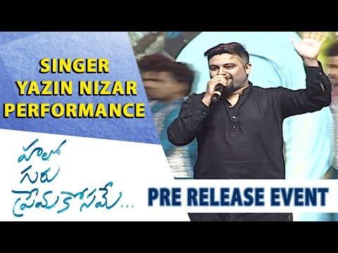 Singer Yazin Nizar Performance - Hello Guru Prema Kosame Pre-Release Event - Ram Pothineni, Anupama