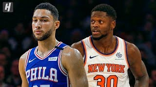 Philadelphia 76ers vs New York Knicks - Full Game Highlights | January 18, 2020 | 2019-20 NBA Season