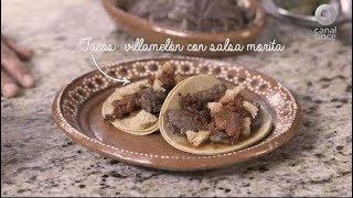 Tu cocina - Tacos villamelón con salsa morita