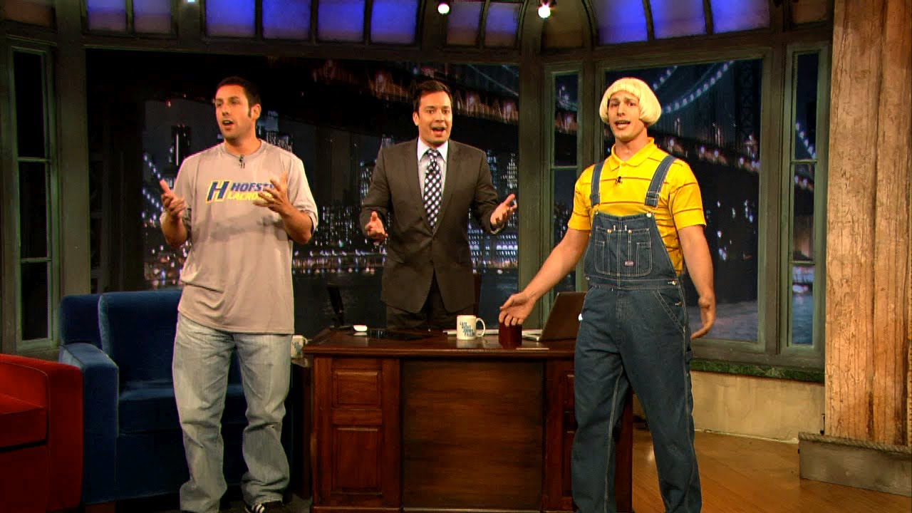 Adam Sandler's Father's Day Song with Jimmy Fallon and Andy Samberg (Late Night with Jimmy Fallon) thumbnail