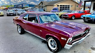 1969 Chevy Nova 396 4-Speed SOLD $22,900 Maple Motors #694