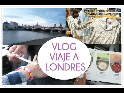 VLOG Viaje a Londres, review belleza y reencuentro con amigas