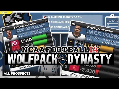 NCAA Football 14 - Illinois Tech Dynasty Ep. 7 - Recruiting Update [Season 1]