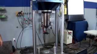 Lansmont Shock Machine with Gas Programmer