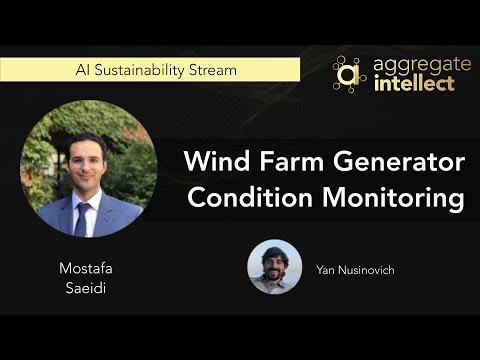 Wind Farm Generator Condition Monitoring