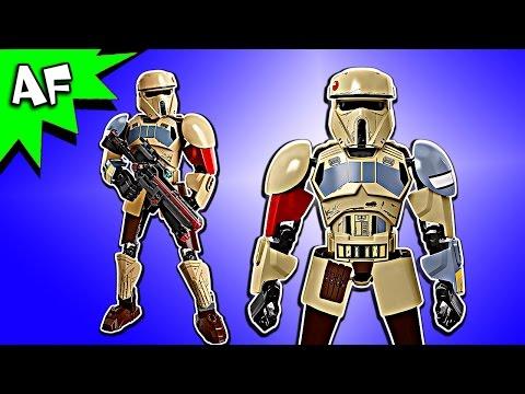 Vidéo LEGO Star Wars 75523 : Scarif Stormtrooper