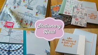 Stationery Haul - Zoella, Cath Kidston, Erin Condren & Paperchase