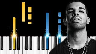 Drake - Signs - Piano Tutorial