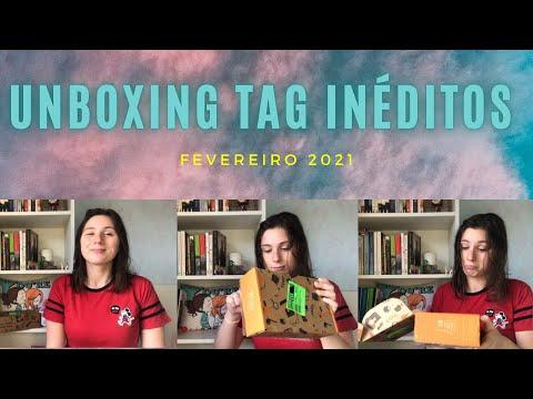 UNBOXING TAG INÉDITOS - Fevereiro