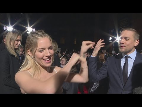 The Lost City of Z premiere: Sienna Miller wants to be Spider-Girl!
