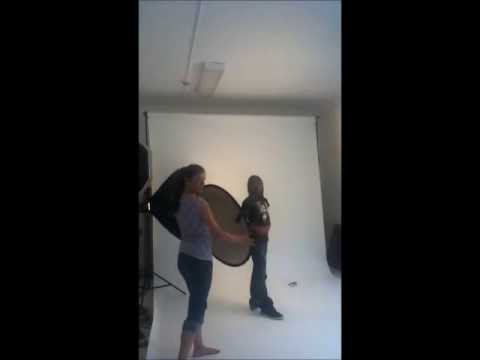 K. Splitting Image photoshoot *Raw Footage*