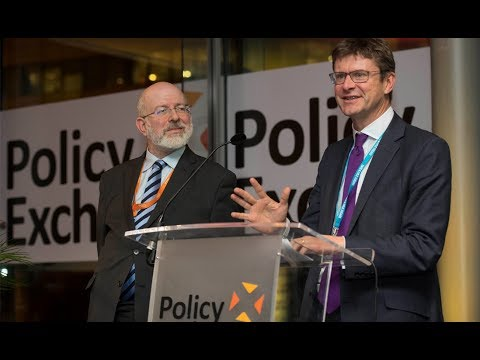 Rt Hon Greg Clark MP delivers remarks at annual Policy Exchange drinks reception