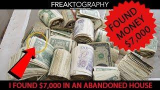 This Urban Explorer Found Money in an Abandoned House. $7,000 hidden in mattress