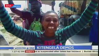 Kitengela traders demonstrate after county government ejects them from kiosks