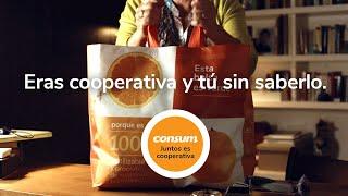 Supermercados Consum Medio Ambiente - Juntos es Cooperativa- Consum anuncio