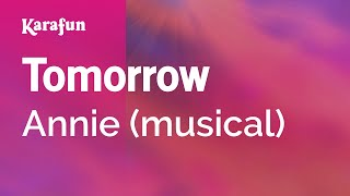 Karaoke Tomorrow - Annie *