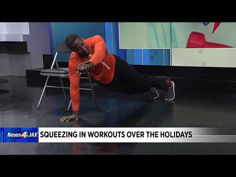 Squeezing in workouts over the holidays