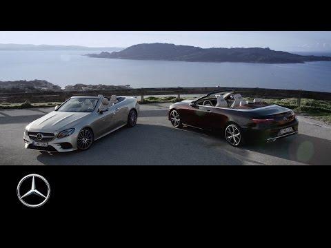 Mercedesbenz E Class Cabriolet Кабриолет класса E - рекламное видео 2