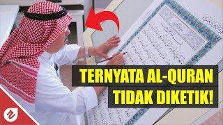 Bukan Diketik! Ternyata Al-Quran Ditulis Dengan Tangan Oleh Syeh Ini