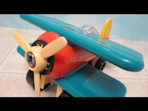 Take Apart Airplane By Battat Assembly
