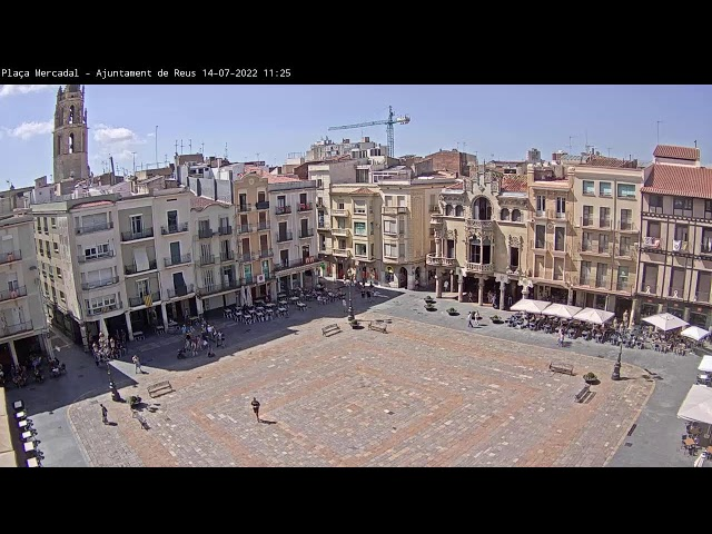 Live Webcam Plaza Mercadal, Reus