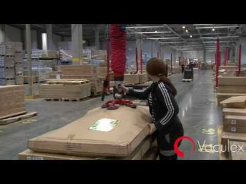 Vaculex Distribution Centres Solutions - Safe Manual Handling
