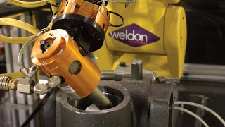 Weldon Solutions Robotic Material Removal video